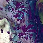 """Картины и панно ручной работы. Ярмарка Мастеров - ручная работа """"Фиолетовая фантазия"""". Handmade."""