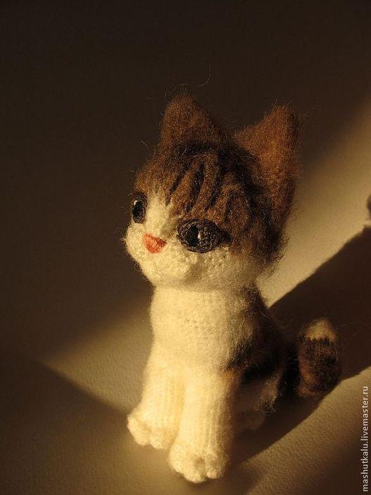 Котенок связать крючком фото