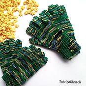 Работы для детей, ручной работы. Ярмарка Мастеров - ручная работа Перчатки ручного вязания для мальчика. Handmade.