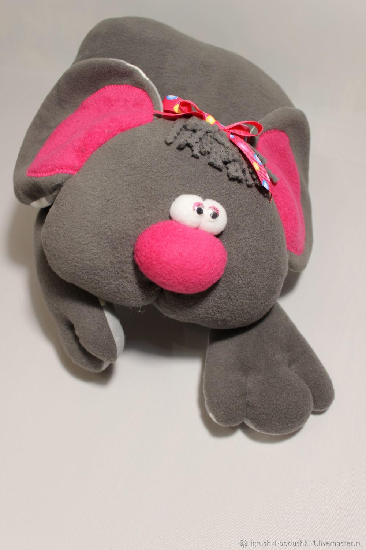 Мышь Плюшка, Мягкие игрушки, Таганрог,  Фото №1