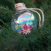 """Подарки к праздникам ручной работы. Ярмарка Мастеров - ручная работа Ёлочный шар """"Всевидящий"""", уникальный подарок. Handmade."""