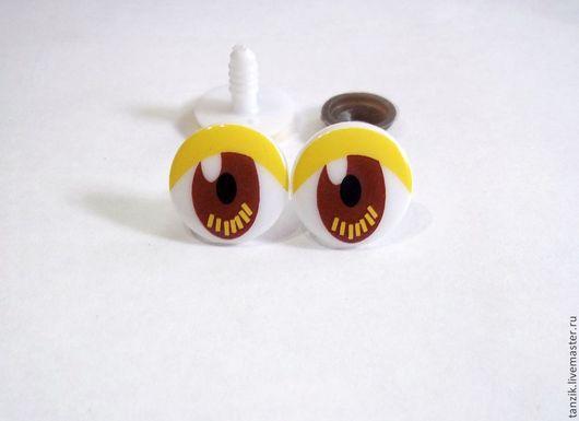 Куклы и игрушки ручной работы. Ярмарка Мастеров - ручная работа. Купить Глазки цветные.. Handmade. Глазки, глазки для игрушек