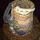"""Женские сумки ручной работы. Ярмарка Мастеров - ручная работа. Купить Валяная  сумка-торба """"Пастель"""". Handmade. Цветочный"""