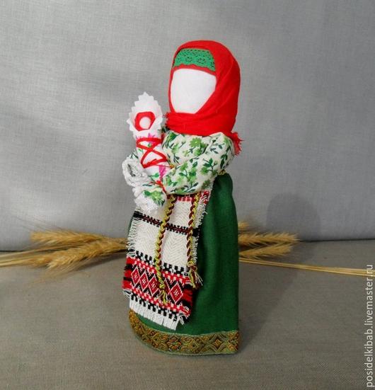 Народные куклы ручной работы. Ярмарка Мастеров - ручная работа. Купить Народная кукла Мамушка-семейный оберег.. Handmade. Разноцветный