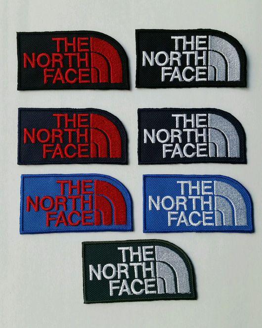Аппликации, вставки, отделка ручной работы. Ярмарка Мастеров - ручная работа. Купить шевроны-нашивки the North Face. Handmade.