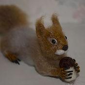 Куклы и игрушки handmade. Livemaster - original item felt toy: The figure of the spirit-helper