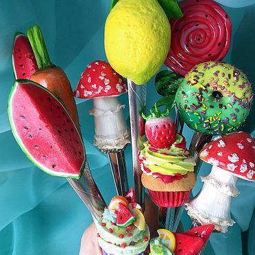 Для дома и интерьера ручной работы. Ярмарка Мастеров - ручная работа Декор на ложках.Вкусные ложки. Handmade.