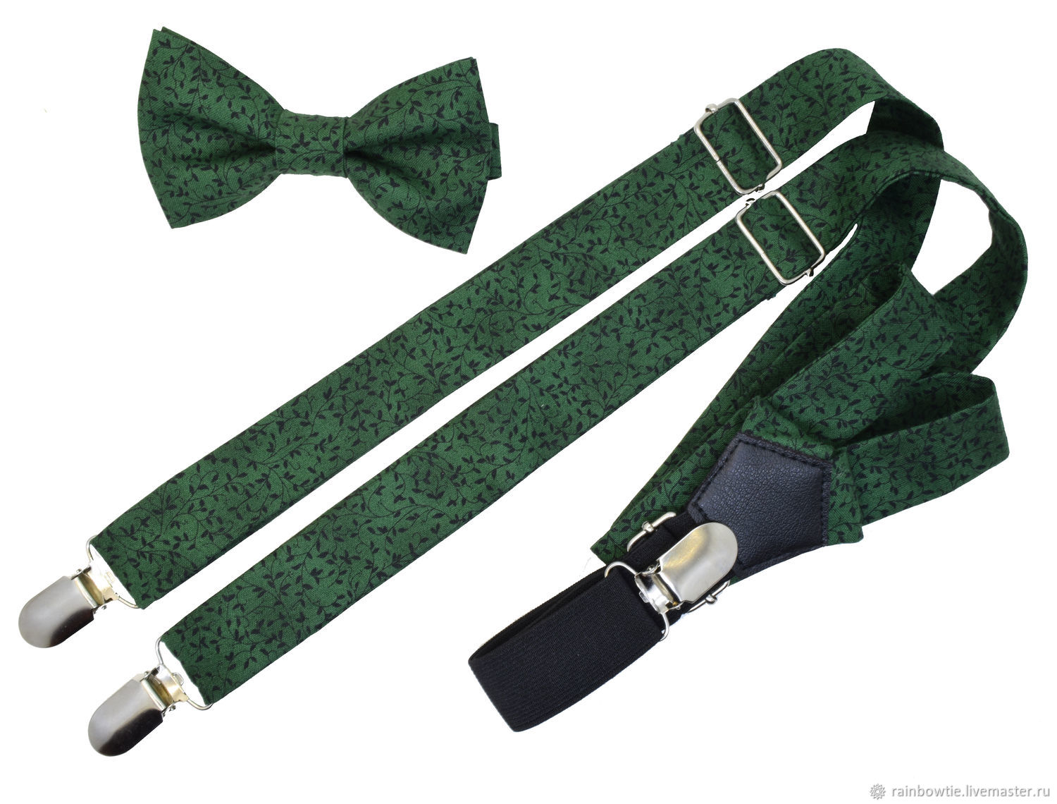 Set bow tie and braces 'Les art', Ties, Moscow,  Фото №1