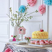 Подарки к праздникам ручной работы. Ярмарка Мастеров - ручная работа Сладкий стол для девочки. Handmade.