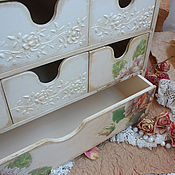 """Для дома и интерьера ручной работы. Ярмарка Мастеров - ручная работа Мини-комод """"Roses..."""". Handmade."""