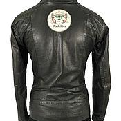 Одежда handmade. Livemaster - original item Brown women`s leather jacket on the figure. Handmade.