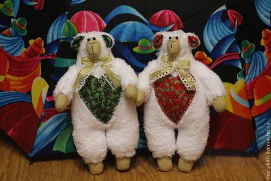 Куклы Тильды ручной работы. Ярмарка Мастеров - ручная работа. Купить Сладкая парочка. Handmade. Белый, подарок, тильда овечка
