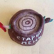 """Для дома и интерьера ручной работы. Ярмарка Мастеров - ручная работа Шапка для бани """" Старый пень"""". Handmade."""