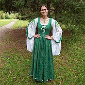 Одежда ручной работы. Ярмарка Мастеров - ручная работа Шенрон- ирландское народное платье. Handmade.