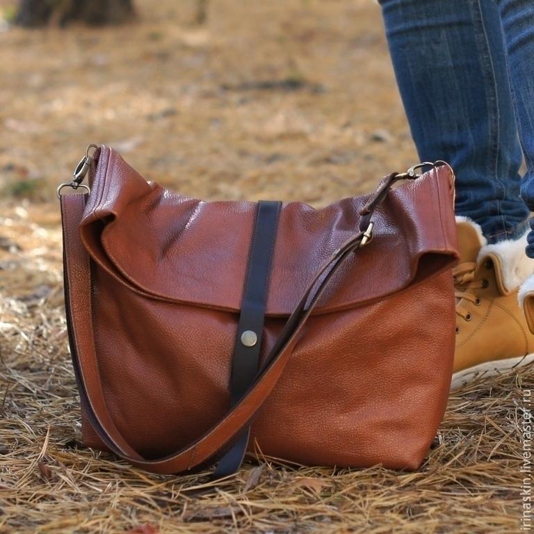 d96e124b0b05 кожаная сумка большая, кожаная сумка мешок, большая кожаная сумка мешок  рыжая, большая кожаная ...