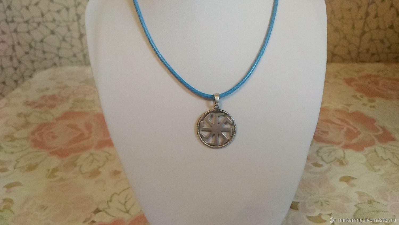 A silver pendant Charm LADINES, Pendants, Sasovo,  Фото №1
