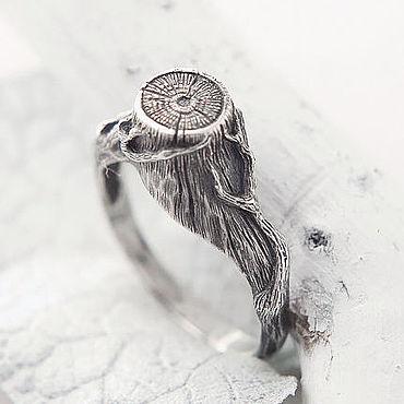 Украшения ручной работы. Ярмарка Мастеров - ручная работа Кольцо из серебра Ведьмин Пень, кольцо серебро. Handmade.
