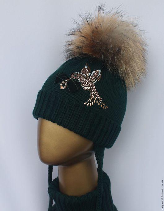 цвет шапочки тёмно-зелёный
