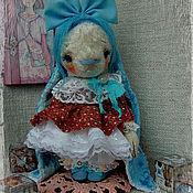 Куклы и игрушки ручной работы. Ярмарка Мастеров - ручная работа Тедди зайка Мальвина.. Handmade.