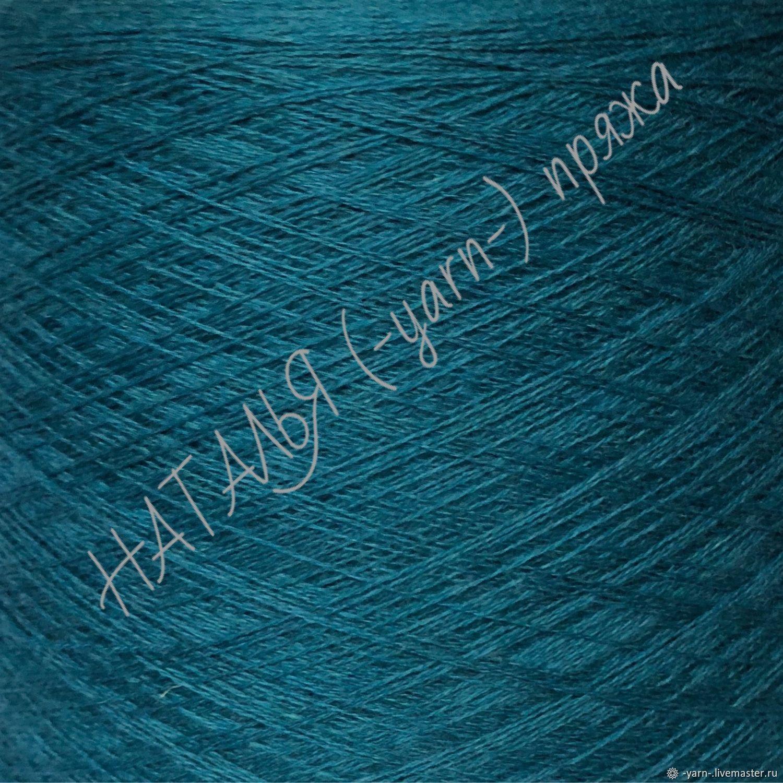 Пряжа Кашемир 2/28 Tibet пыльная морская волна – купить на Ярмарке Мастеров – JWIF8RU | Пряжа, Санкт-Петербург