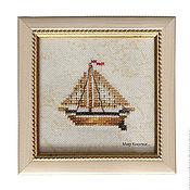 Картины и панно ручной работы. Ярмарка Мастеров - ручная работа Кораблик.... Handmade.