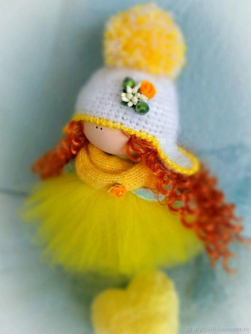 Интерьерная кукла ручной работы. Кукла текстильная, Тыквоголовка, Рязань,  Фото №1