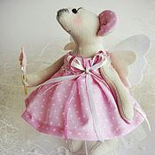 Куклы и игрушки ручной работы. Ярмарка Мастеров - ручная работа Мышки-феечки. Handmade.