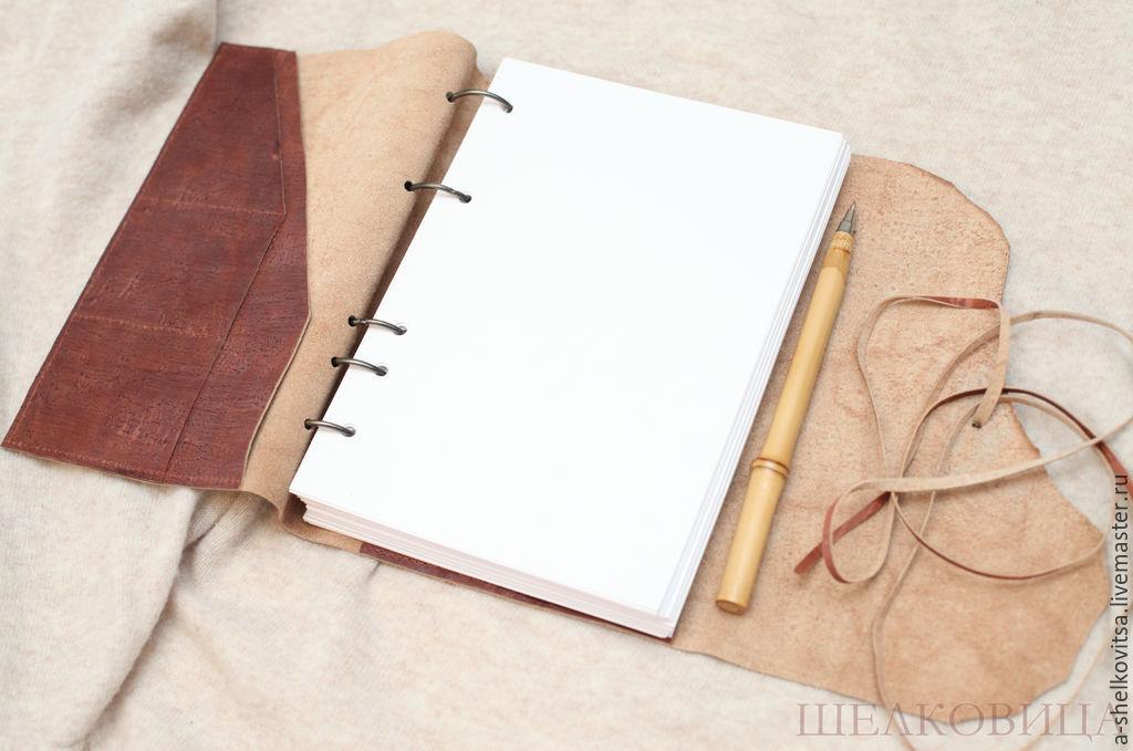 Как сделать записную книжку из тетради