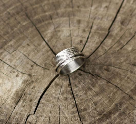 """Кольца ручной работы. Ярмарка Мастеров - ручная работа. Купить кольцо """"Движение первое"""", серебро. Handmade. Серебряный, кольцо из серебра"""