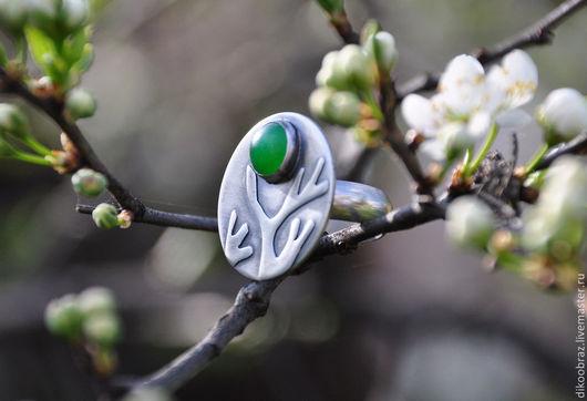 """Кольца ручной работы. Ярмарка Мастеров - ручная работа. Купить Кольцо """"Актриса Весна"""". Handmade. Зеленый, авторская работа, дерево"""