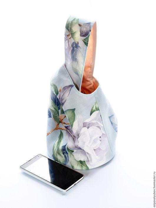 """Женские сумки ручной работы. Ярмарка Мастеров - ручная работа. Купить Сумка мешок """"Дыхание весны"""". Handmade."""
