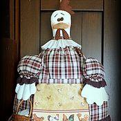 Для дома и интерьера ручной работы. Ярмарка Мастеров - ручная работа Толстуха  ХАННА  пакетница. Handmade.