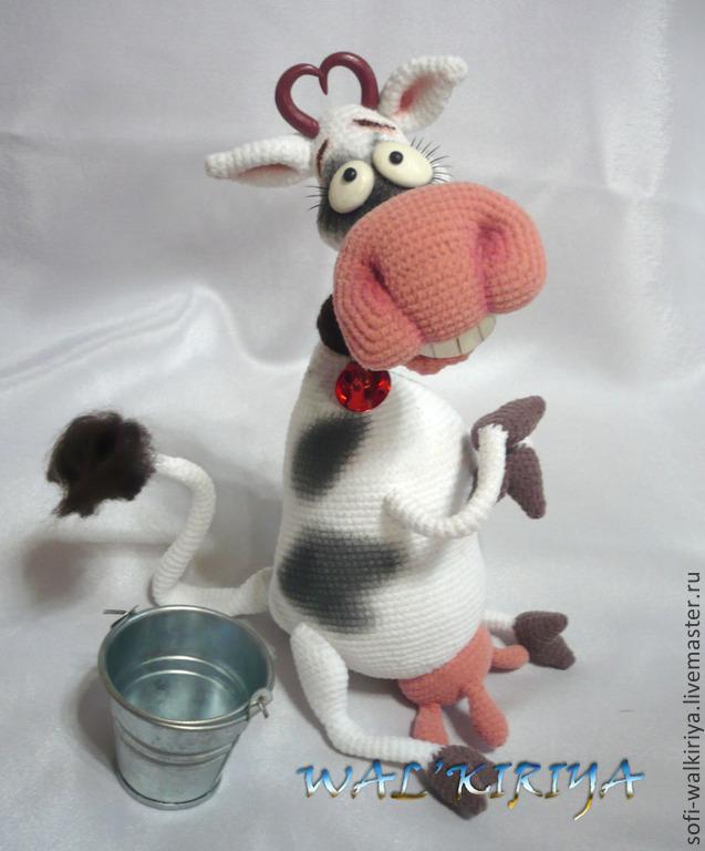 мастер класс по вязанию игрушки крючком коровка чумачеча купить