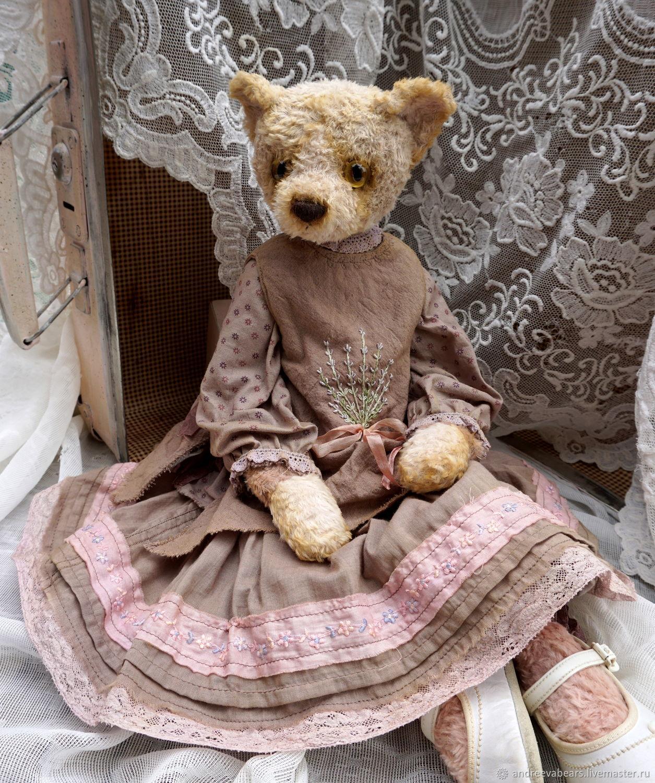Teddy Animals: Lavender boho cat, Teddy Toys, Moscow,  Фото №1