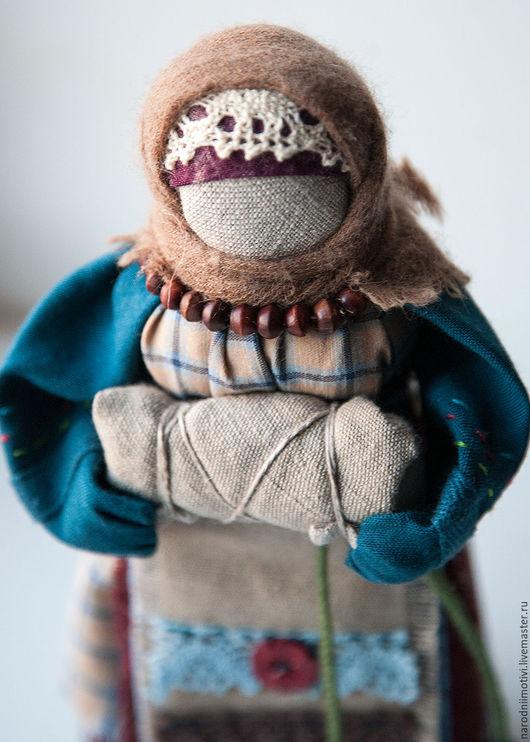 Народные куклы ручной работы, Купить куклу-оберег на Беременность, Handmade, оберег на материнство, русская народная кукла, синий, бордовый, бежевый, зеленый, обережные куклы.