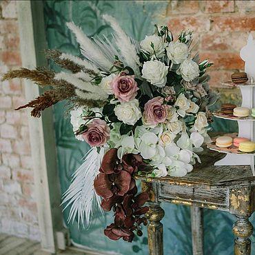 Свадебный салон ручной работы. Ярмарка Мастеров - ручная работа Флористическое оформление Бара, Кэнди-бара. Handmade.