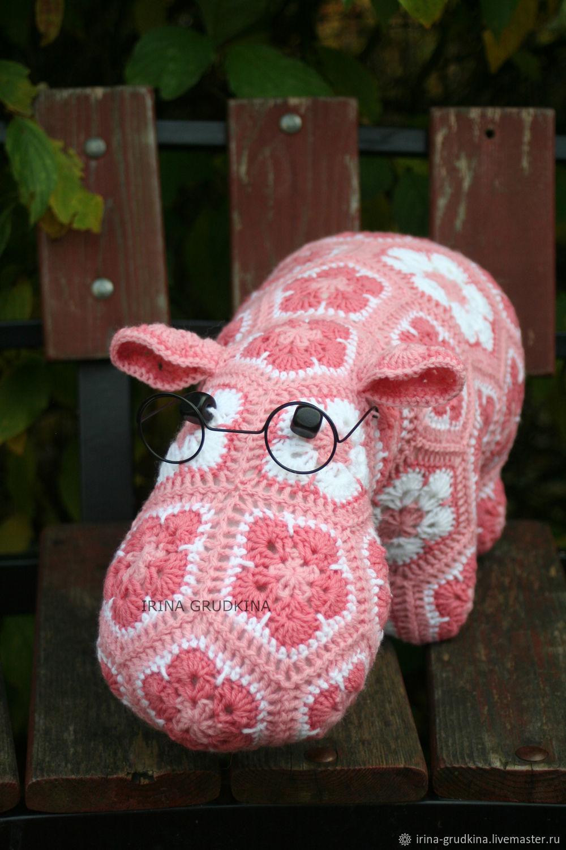 The Hippo Alex, Stuffed Toys, St. Petersburg,  Фото №1