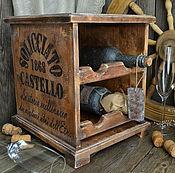 Для дома и интерьера ручной работы. Ярмарка Мастеров - ручная работа «Старый замок» Мини-бар. Handmade.