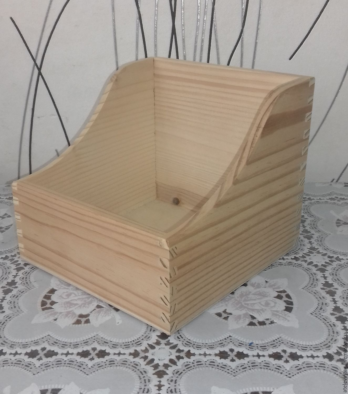 Box, billet 117, Blanks for decoupage and painting, Tula,  Фото №1