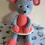 Мягкие игрушки ручной работы. Ярмарка Мастеров - ручная работа Игрушка мышка. Handmade.