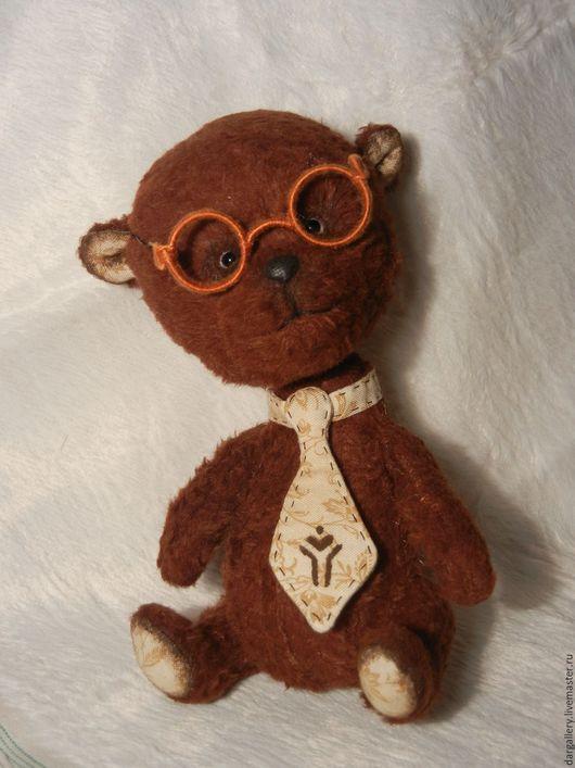 Мишки Тедди ручной работы. Ярмарка Мастеров - ручная работа. Купить Миша Вениамин, или просто Веня. Handmade. галстук