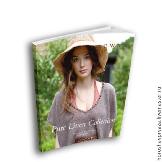 Книга Rowan...Pure Linen Collection.