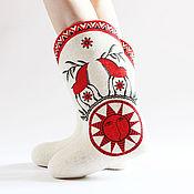 Обувь ручной работы handmade. Livemaster - original item Boots Yarilo. Handmade.