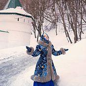 Пальто ручной работы. Ярмарка Мастеров - ручная работа Пальто: Пальто в русском народном стиле. Handmade.