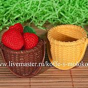 Материалы для творчества handmade. Livemaster - original item Silicone molds for soap Basket. Handmade.