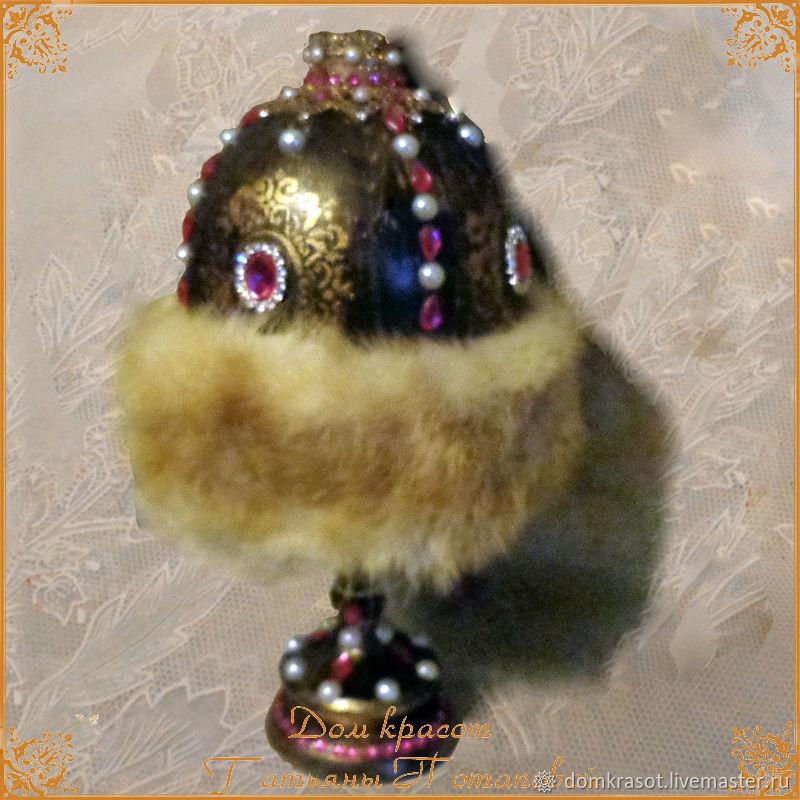 "Interior (chimney) egg ""Monomahini hat"", Eggs, Moscow,  Фото №1"