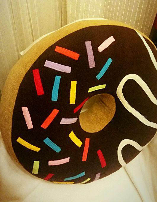 Детская ручной работы. Ярмарка Мастеров - ручная работа. Купить Пончик-пуфик. Handmade. Купить москва, купить в подарок