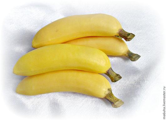 Мыло ручной работы. Ярмарка Мастеров - ручная работа. Купить Мыло Банан. Handmade. Желтый, мыльный банан