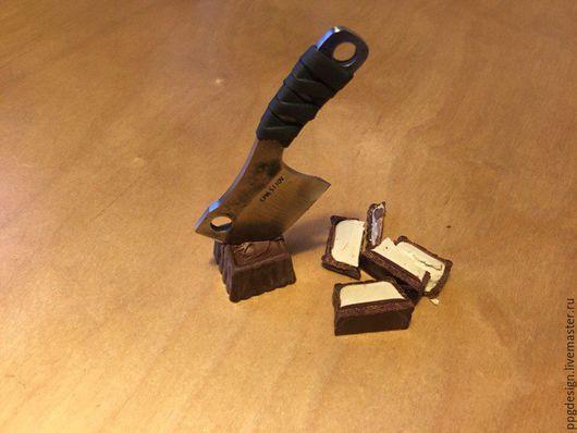 Оружие ручной работы. Ярмарка Мастеров - ручная работа. Купить Топорик. Handmade. Серебряный, нож, мужской подарок