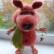Куклы и игрушки ручной работы. Ярмарка Мастеров - ручная работа Хомяк. Handmade.